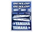 Stickerset Yamaha Azul