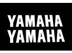Stickerset Yamaha Blanco