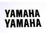 Stickerset Yamaha Negro